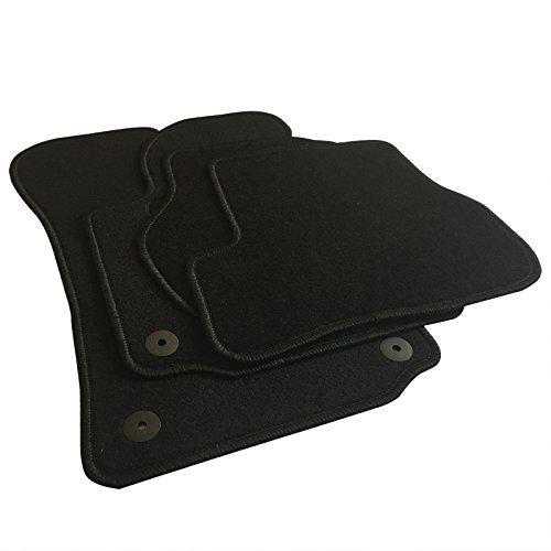 EUGAD AM7186p Autoteppich Auto Fußmatten Matten schwarz