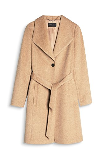 ESPRIT Collection Damen Mantel Braun (Camel 230)