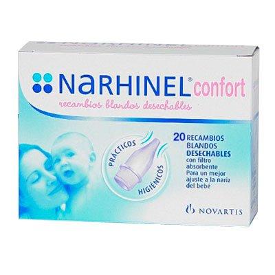NARHINEL Confort 20 Recambios Blandos Desechables