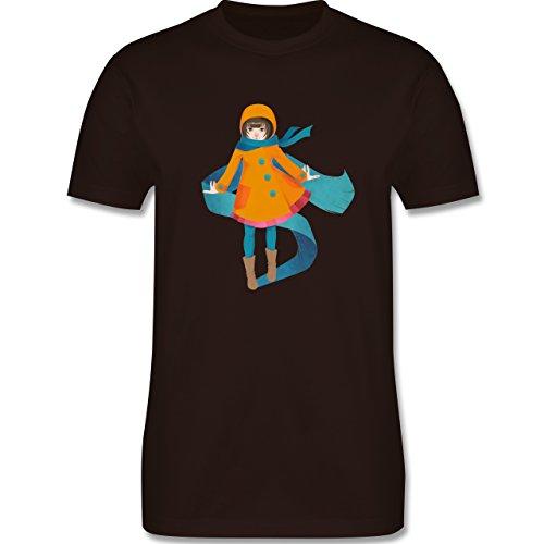 Statement Shirts - Herbstspaziergang - Herren Premium T-Shirt Braun