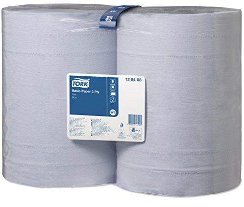 Tork 128408 Standard Papierwischtücher für W1 Bodenständer- und Wandhalter-System / Saugfähige,...