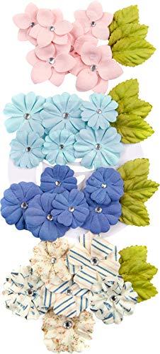Unbekannt Prima Marketing Mulberry Paper Flowers -Del Mar/Golden Coast, 36/Pkg
