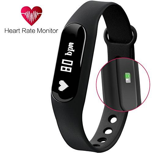 Fitness Tracker Guarda Gosund intelligente vigilanza di sport braccialetto Bluetooth 4.0 wireless braccialetto intelligenti Sport di fitness contatore del monitor contapassi sonno Calorie Tracker
