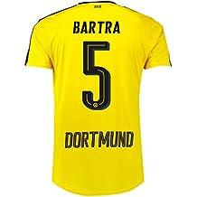 Puma Borussia Dortmund Fútbol camiseta Home 20162017Hombre Bartra 5Amarillo Negro