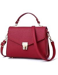 82e43216d0df6 XUZISHAN Damen Leder Bag Eine Schulter Messenger Crossbody Fashion