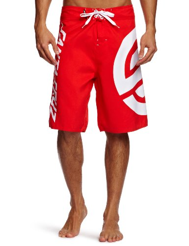 Santa Cruz Boardshort XL Knot rich red