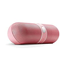 Erry HiFi portable bluetooth pill speaker- Pink