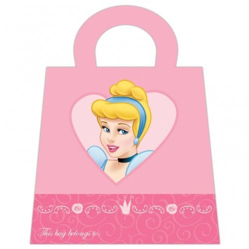 Disney Princess Party bag-Form, 6 Stück