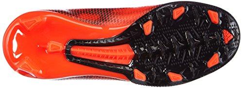 adidas - F10 Firm Ground, Scarpe da calcio per bambini e ragazzi Rosso (Solar Red/Ftwr White/Core Black)