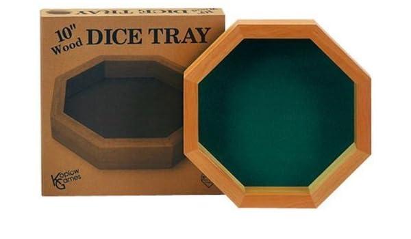 Dice Games Wood TrayAmazon Inch Koplow 10 itGiochi E Giocattoli VpzMGqSU