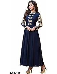 Zeel Fashion Women's Georgette Unstitched Dress Material