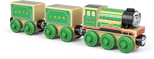 Thomas & Friends FTG72 Fisher-Price Wood Flying Scotsman Vehicle Toy, Multi-Colour
