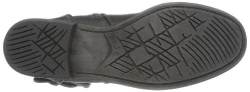 Marco Tozzi 2-2-25052-21 Damen Biker Boots Schwarz (BLACK ANTIC 002)