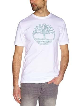 Timberland - T-Shirt - Homme - Blanc (White) - S