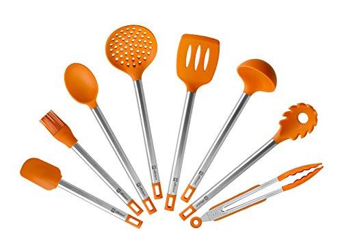 Bra Efficient - Set de 8 utensilios de cocina