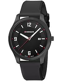 Wegner Unisex Reloj de pulsera analógico cuarzo silicona 01.1441.111