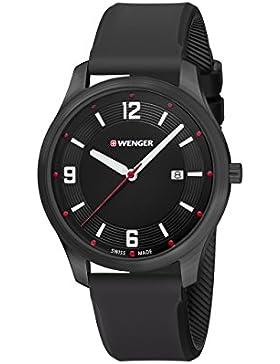WENGER Unisex-Armbanduhr Analog Quarz Silikon 01.1441.111