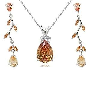 Crystalline   NO  18ct base metallo placcato oro     Cristallo