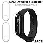 M.G.R.J® TPU Screen Guard for Xiaomi Mi Band 3 (Pack of 2)