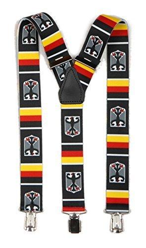 Hosenträger Y Form: Deutschland mit Wappen