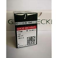 Groz Beckert 100 máquinas de Coser Agujas de la Industria Redondo pistón DPX5 ...