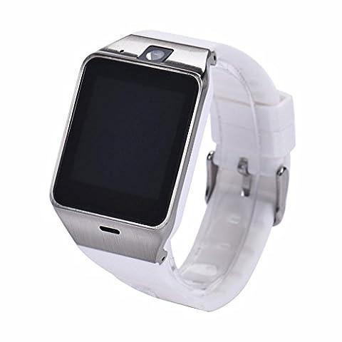 Smart Watch, HARRYSTORE Business Sport Bluetooth Smart Watch Telefon GSM NFC Kamera Wasserdichte Armbanduhr für Smart Phone (Unlocked Gsm-bluetooth-kamera-telefon)