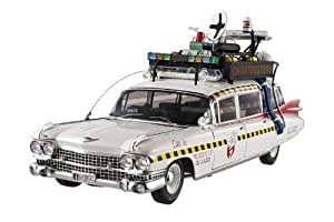 Ghostbusters 2 Ecto-1A Hot Wheels Elite 1:18 Scale Vehicle by Hotwheels TOY (English Manual)