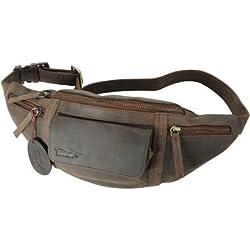 Kalahari 440508 - Riñonera para cámara compacta, marrón