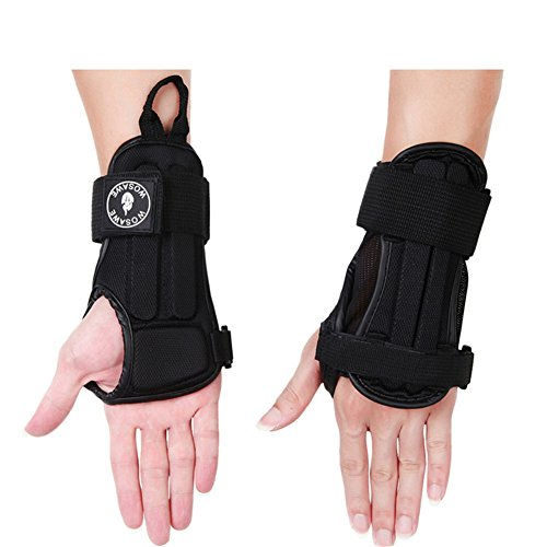 West Biking Handgelenkschoner–atmungsaktiv, Schutz für Hände und Handgelenke, Halt für Sehnenscheidenentzündung, Kinder Herren damen (Bowling Handschuh-handgelenk-unterstützung)