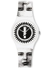 Swatch SUOZ125 - Reloj analógico de cuarzo unisex con correa de plástico, color multicolor