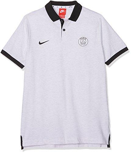 Nike Jungen Paris Saint-Germain Y Sportswear GSP PQ Authentic Poloshirt, Birkenholzgrau/Sc Preisvergleich