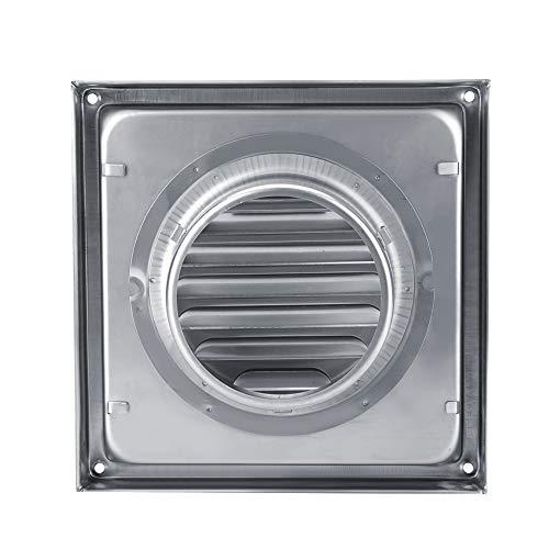 Garosa Auspuff-Entlüftungsöffnungen, Edelstahl-Luftfilter-Kanal-Grille-Wand-Luft-Entlüftungs-quadratischer Trockner-Auszieher-Gebläse-Ausgang