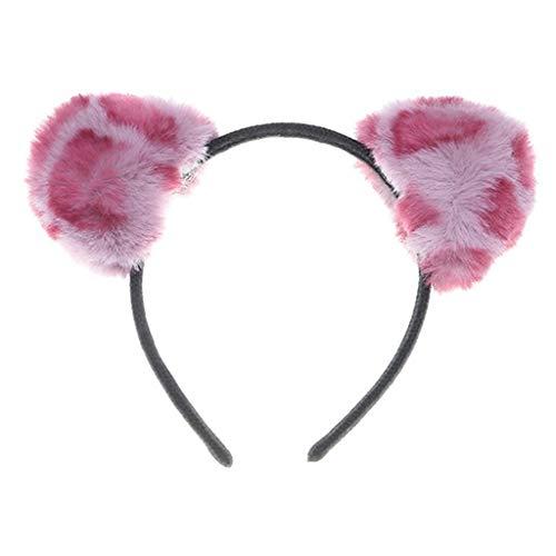 Baby Up Light Kostüm - erthome Haarnadel, Damen Accessoires Halloween Tierohren Stirnband Party Kostüm Hut (Rosa)
