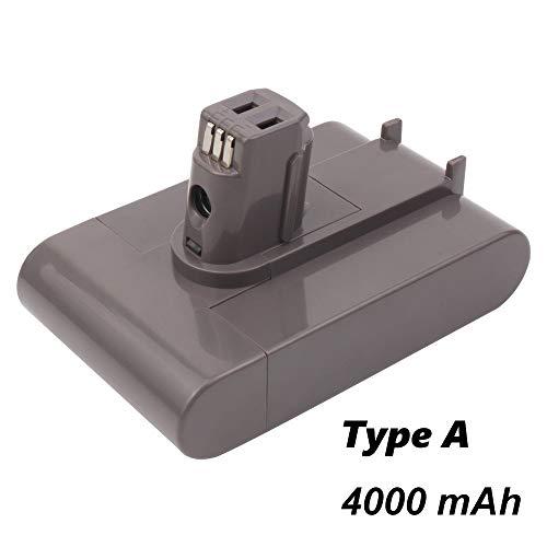 Masione Typ A Akku 22.2V 4000mAh Ersatzakku Für Dyson DC35 Li-Ionen-Akku DC31 DC34 DC44 917083-01 Handheld Staubsauger Batterie (Nicht fit Typ B)