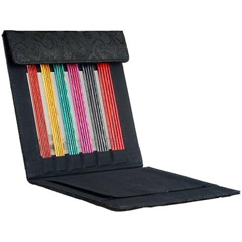 Knit Pro Dreamz Symfonie wood set ferri doppia punta per maglia in legno colorato