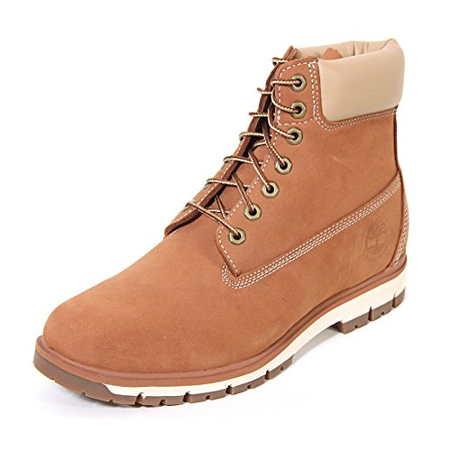 Timberland Men s Radford 6    A1PC9 Argan Oil Waterbuck Lace Up Boot Brown-Brown-9