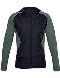 Under Armour - Camiseta térmica para Hombre, Hombre, Sudadera cálida, 1352021-424, Lichen Azul/Negro/Azul liquen (424), Medium
