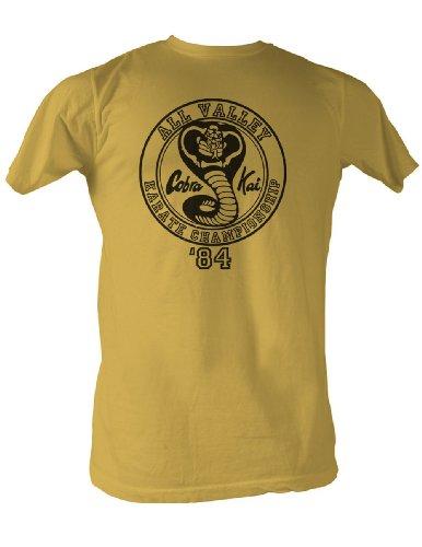 41mmU1UMZ3L - Camiseta unisex Cobra Kai color pistacho
