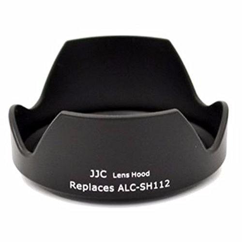 JJC LH-112 Gegenlichtblende (Streulichtblende, Sonnenblende) für Sony SEL 18-55mm 16mm NEX-5 NEX-3 ALC-SH112