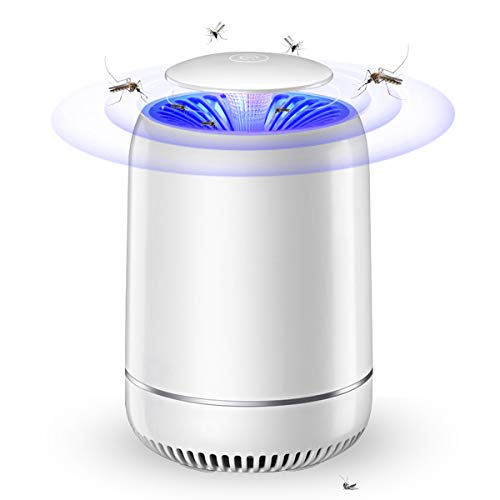 FOCHEA Zanzariera Elettrica, USB Lampada Antizanzare, Alto-efficiente Trappola Zanzare Anti Insetti per...