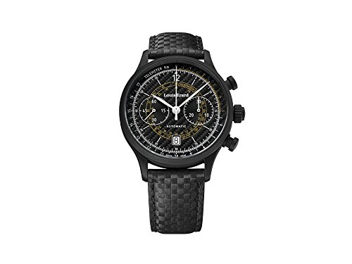 Louis Erard 1931 Carbon Automatic Watch, Black, PVD, Limited Edition, 71245NN12
