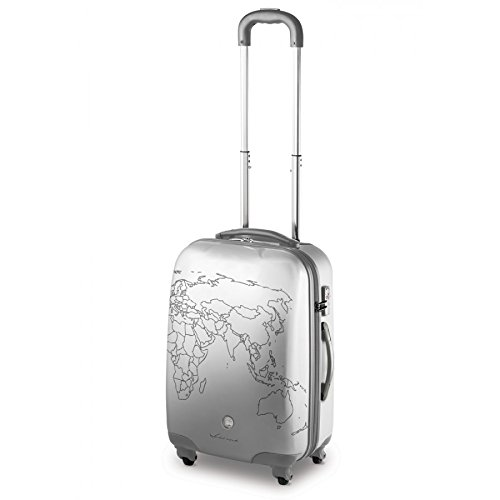 TROLLEY PICCOLO 4 RUOTE RONCATO CIAK TO-DO - TSA - POLICARBONATO (SILVER)