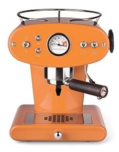 Francis Francis X1 Ground Coffee Machine, Orange