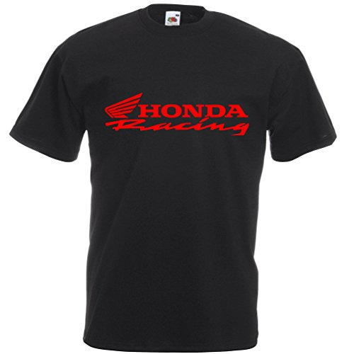 honda-racing-t-shirt-noir-medium