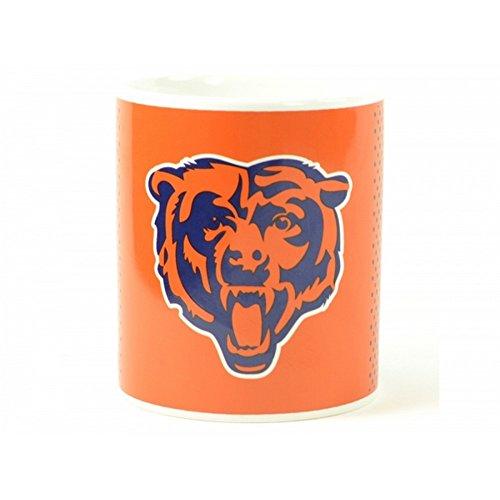 Chicago Bears NFL ofizieller Becher mit überblendendem Design (Einheitsgröße) (Orange/Blau/Weiß) - Chicago Design