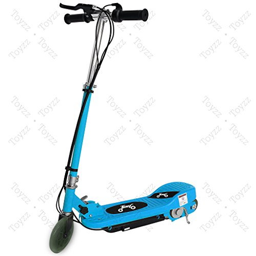 New 2017 Electric E Scooter Ride on Rechargeable Battery Removable Seat Kids Toys Ride On Cars 120W 24V Scooters (SKYBLUE WITHOUT SEAT)
