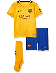 Nike Fcb Away Lb Kit - Traje completo Fútbol Club Barcelona 2015/2016 unisex