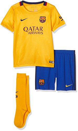 Nike Fcb Away Lb Kit-Tuta completo Football Club Barcellona 2015/2016, unisex
