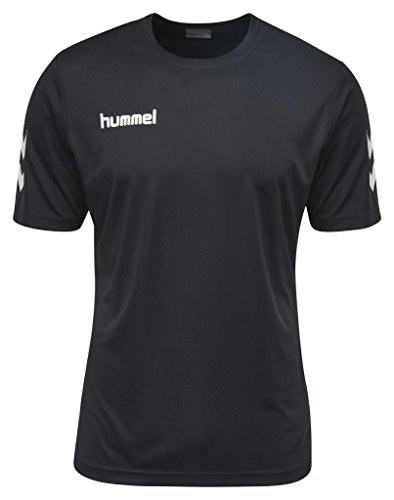 Hummel Herren Core Polyester Tee T-Shirt, schwarz (Black), M