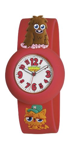 Moshi Monsters Furi And Gingersnap Charms Watch - Red